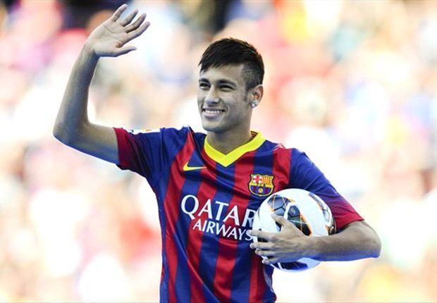 El delantero brasileño, Neymar, en el Barcelona FC.