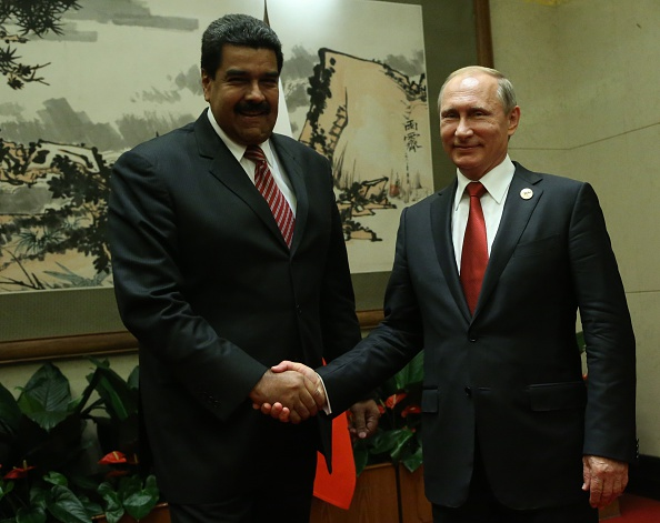 Presidente de Rusia Vladimir Putin Mandatario de Venezuela Nicolás Maduro (Photo by Sasha Mordovets/Getty Images)