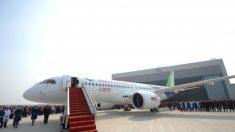 Fabricantes extranjeros detrás del primer avión de pasajeros hecho en China