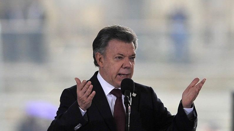 El presidente de Colombia, Juan Manuel Santos (Foto: GUILLERMO LEGARIA / AFP / Getty Images)