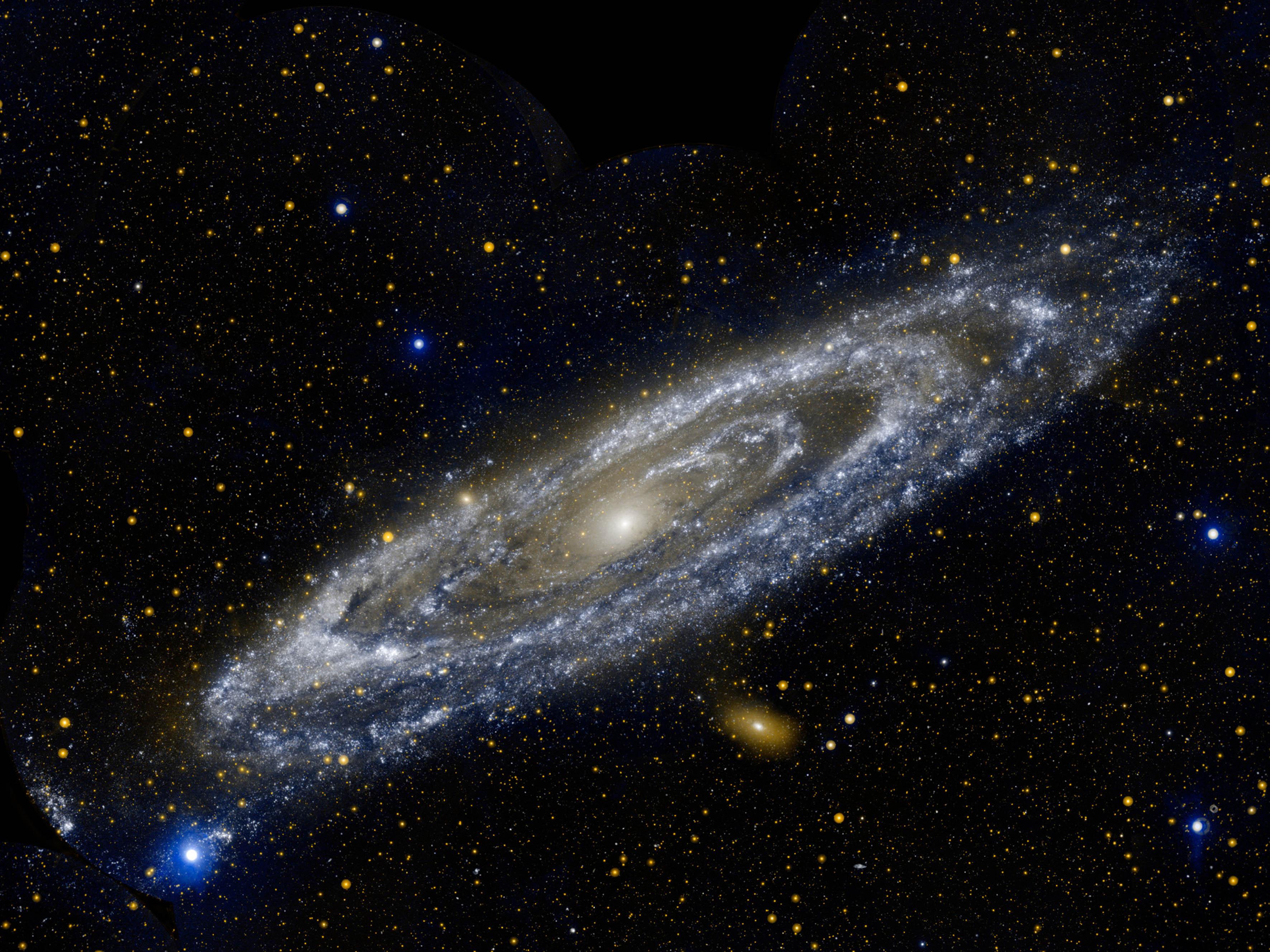 Encuentran un desierto estelar alrededor del centro de la Vía Láctea