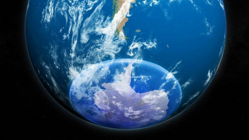 Agujero de ozono de la Antártida (NASA)