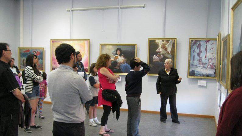 La exposición internacional El Arte de Verdad-Benevolencia-Tolerancia, ya se había presentado anteriormente en Chile. Por ejemplo en el Centro Cultural San Antonio, Chile. (La Gran Época)