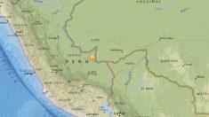 Sismo de 7,3 grados de magnitud sacude zona centro sur de Perú