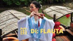 Dí 笛: el carácter que representa a la flauta traversa china