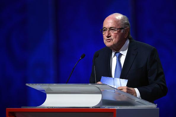 Presidente FIFA  Joseph S. Blatter  (Photo by Dennis Grombkowski/Getty Images)
