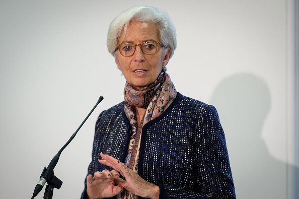 Directora de FMI Christine Lagarde. (Photo by Stefan Rousseau - WPA Pool/Getty Images)