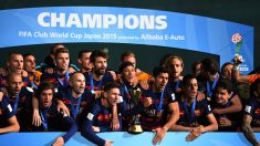 Barcelona cierra triunfos del 2015, y Benítez se despedide