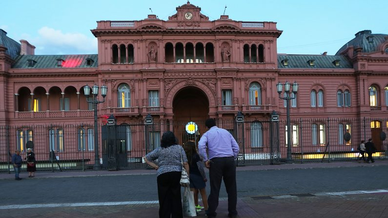Casa Rosada en Buenos Aires, Argentina (Foto por Mario Tama / Getty Images)