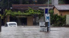 Casi 1.000 desplazados en Uruguay por crecida de río