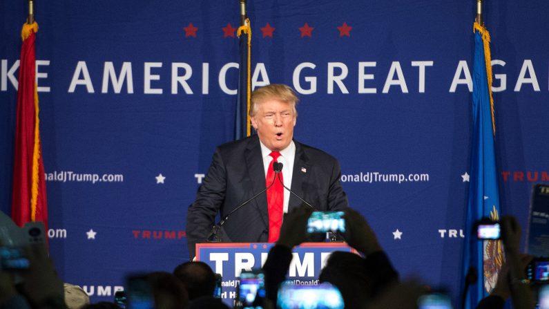 El precandidato presidencial republicano Donald Trump. (Sean Rayford/Getty Images)