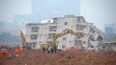 Deslave de tierra en China deja 91 desaparecidos