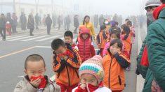 Al menos 10 ciudades chinas en alerta roja por contaminación atmosférica