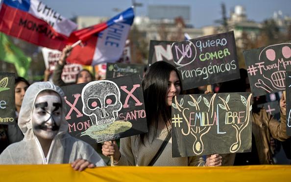 Gran parte de América Latina se sigue resistiendo a la expansión de la trasnacional mediante los reclamos y movilizaciones de millones de personas que se oponen a su influencia (Foto: Martín Bernetti/AFP/Getty Images)