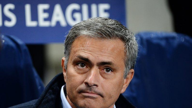 Jose Mourinho, técnico del Manchester United. (Getty Images/AFP)