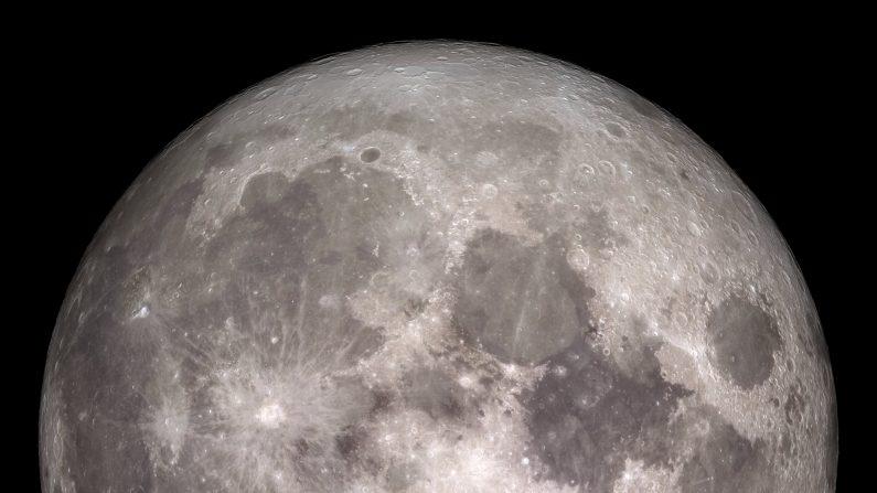 Cómo se verá la luna esta Navidad. (NASA/Goddard/Lunar Reconnaissance Orbiter)
