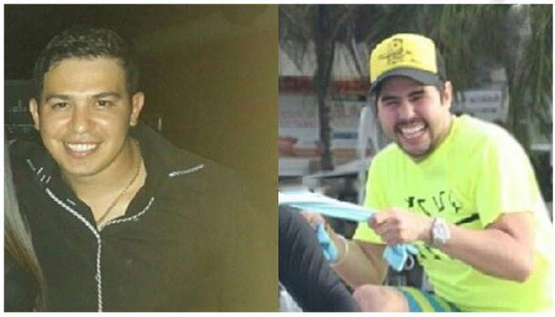 Efraín Antonio Campos Flores y Francisco Flores de Freitas.