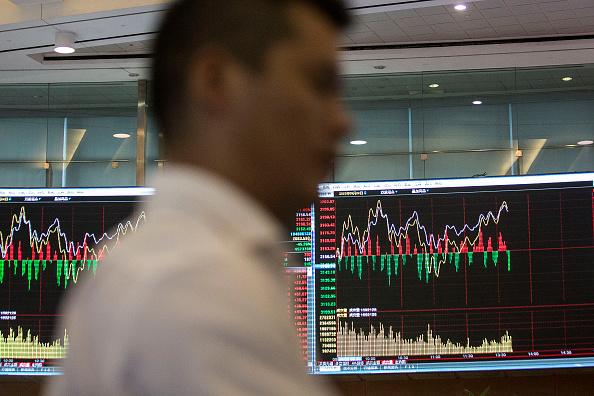 La bolsa de valores de Shanghai en Shanghái, China. Fotógrafo: Qilai Shen/Bloomberg a través de Getty Images