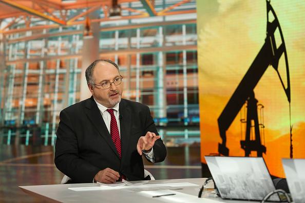 Michael Wittner, jefe de investigación de mercado del petróleo en Television en Nueva York, Estados Unidos, en enero de 2016. Fotógrafo: Chris Goodney/Bloomberg a través de Getty Images