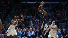 NBA- Clippers vencen 114-111 a los Pelicans, Chris Paul y Jamal Crawford aliados
