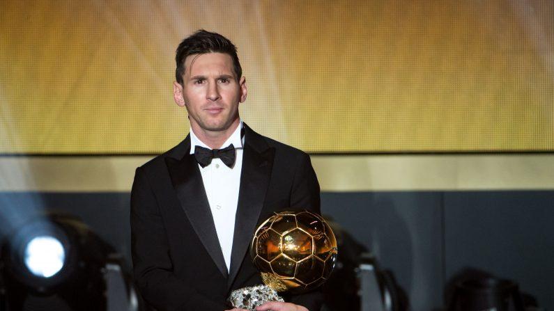 Lionel Messi. (Philipp Schmidli/Getty Images)