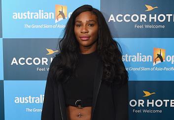 Serena Williams de Estados en enero de 2016 en Melbourne, Australia. (Foto por Vince Caligiuri/Getty Images)