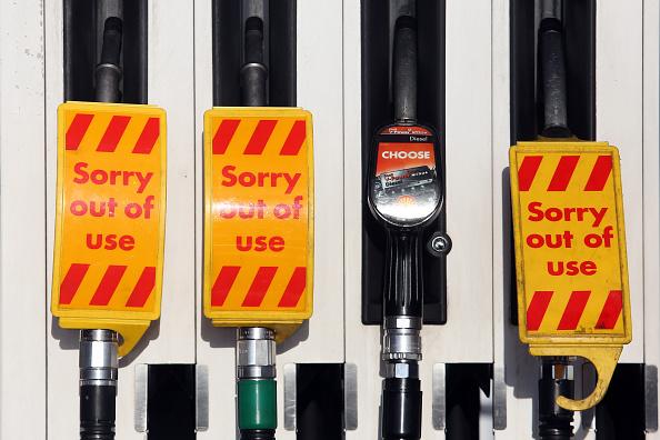 Incremento del precio del petróleo y el cierre de las estaciones de servicios en Norteamérica por el clima. Fotógrafo: Chris Ratcliffe/Bloomberg a través de Getty Images