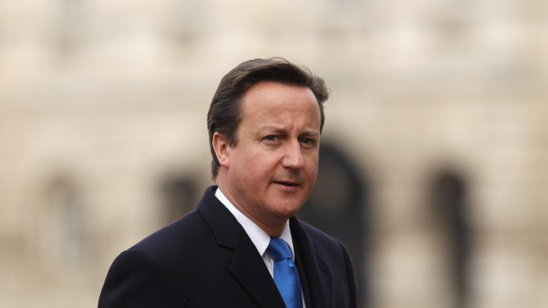 David Cameron, primer ministro del Reino Unido. (Dan Kitwood/Getty Images)