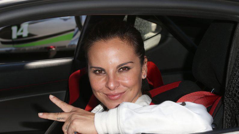 La actriz Kate del Castillo en la 37 ª Anual de Toyota Pro / Celebrity Race-Práctica,  el 9 de abril de 2013 en Long Beach, California. (Frederick M. Brown / Getty Images)