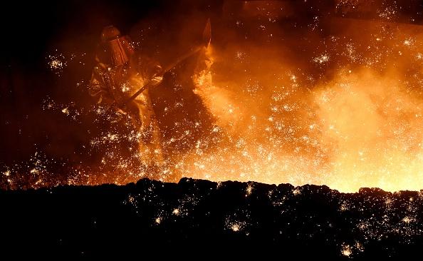 China es el mayor problema de la industria del acero de Argentina y México. (TOBIAS SCHWARZ/AFP/Getty Images)