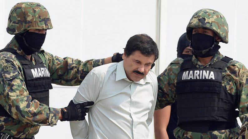 """""""El Chapo"""" Guzmán (ALFREDO ESTRELLA/AFP/Getty Images)"""
