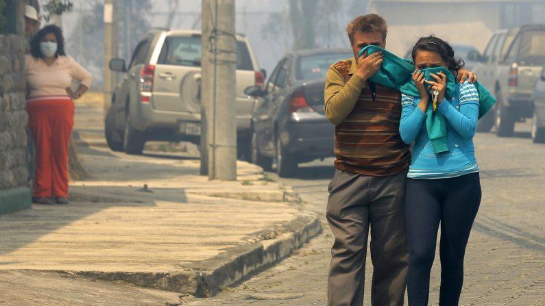 (Photo credit should read JUAN CEVALLOS/AFP/Getty Images)