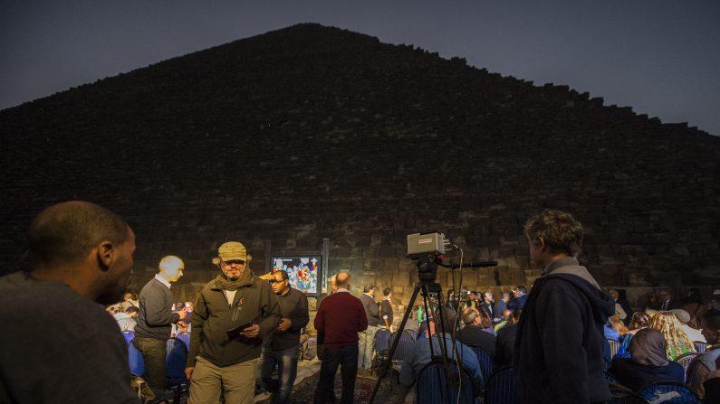 Egipto promete revelar nuevos secretos de las pirámides con su programa de escaneo.       (KHALED DESOUKI/AFP/Getty Images)