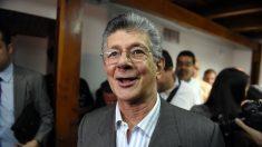 Henry Ramos Allup nuevo presidente de Asamblea Nacional de Venezuela