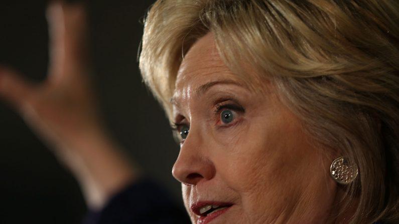 Hilarry Clinton (Foto: Joe Raedle/Getty Images)