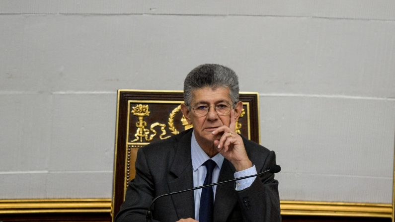 Henry Ramos Allup (FEDERICO PARRA/AFP/Getty Images)