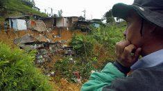 Varios muertos por alud en Colombia