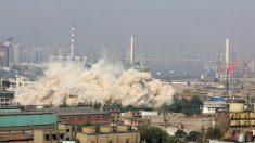 El fenómeno de los edificios desechables en China