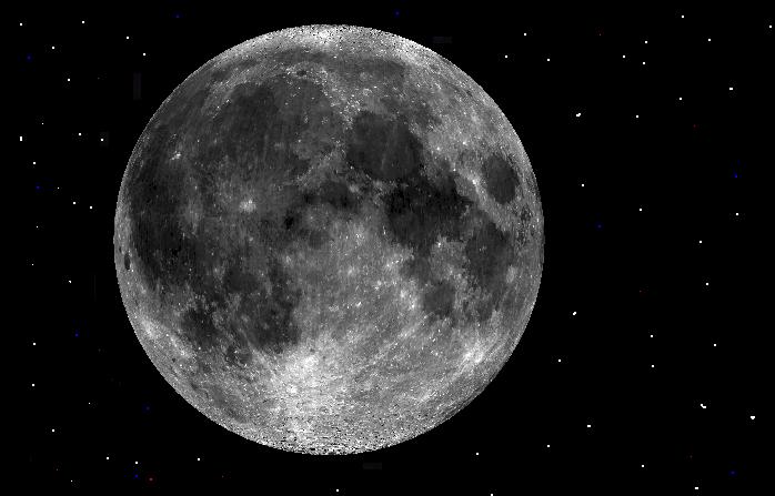 Órbita, densidad, tamaño y relaciones gravitacionales son solo algunas de las anomalías selenitas que llevó a muchos científicos a pensar, que nuestro satélite no es natural. (Imagen: commons.wikimedia.org)