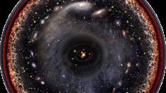 Artista crea impresionante imagen logarítmica de todo el universo conocido