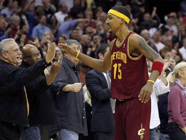 Jamario Moon #15 de los Cleveland Cavaliers en Cleveland, Ohio. (Fotografía de Gregory Shamus/Getty Images)