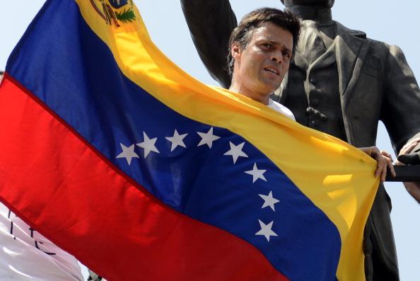 Leopoldo López. (LEO RAMIREZ/AFP/Getty Images)