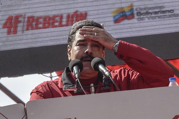 Nicolás Maduro, mandatario de los venezolanos, subio el precio de la gasolina. Fotógrafo: Carlos Becerra/Bloomberg a través de Getty Images