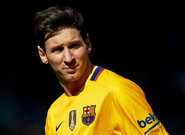 Lionel Messi del Barcelona FC. (Manuel Queimadelos Alonso/Getty Images)