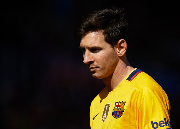 Lionel Messi de Barcelona. (Foto de Manuel Queimadelos Alonso/Getty Images)