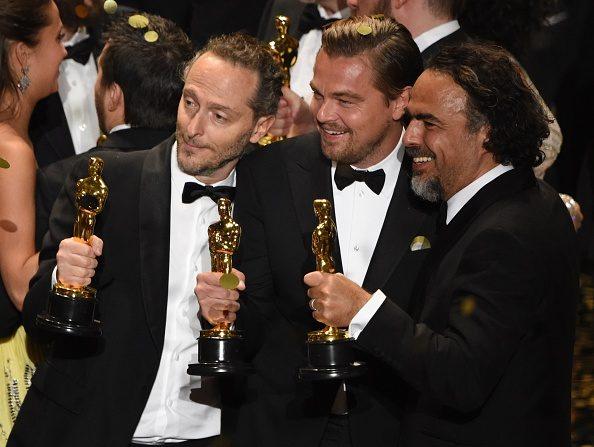 Leonardo Dicaprio gana su primer Oscar (MARK RALSTON/AFP/Getty Images)