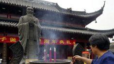 Lección de Confucio dice: No es necesario discutir