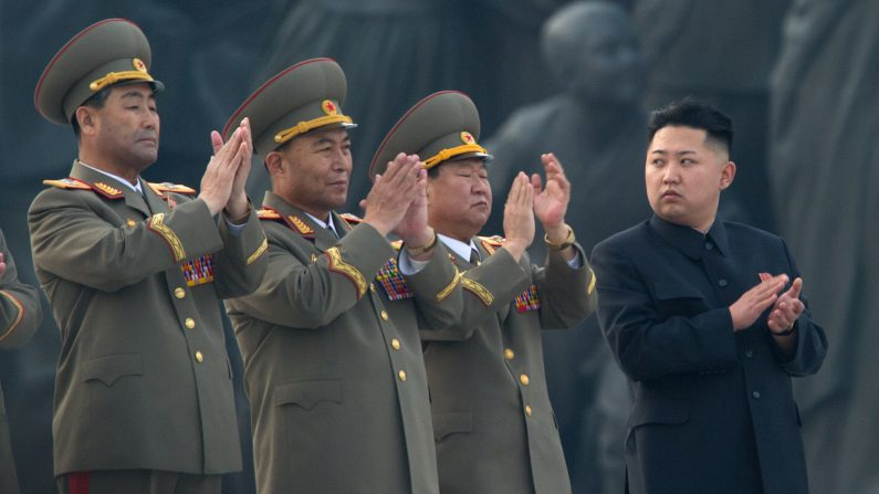 Kim Jong Un, líder de Corea del Norte. (Foto:  Ed Jones/AFP/Getty Images)