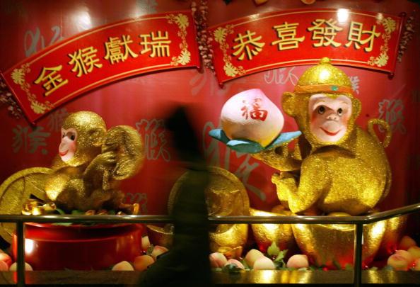 Año Nuevo Chino 2016: El Año del Mono. (PETER PARKS/AFP/Getty Images)