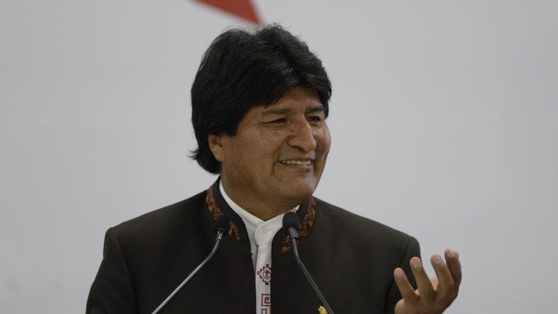 Detienen a la expareja del presidente de Bolivia. (Foto: JOHAN ORDONEZ/AFP/Getty Images)